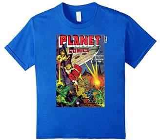 Vintage Planet Comic Cover T-Shirt