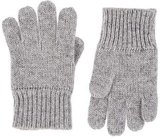 Barneys New York Kids' Cashmere Gloves - Gray