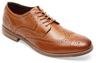 Rockport Style Purpose Leather Wing Tip Oxfords