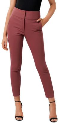 Forever New Georgia High Waist Full Length Pants