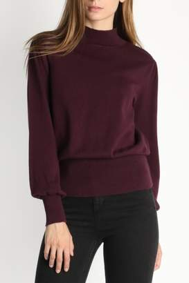 Skies Are Blue Mock Neck Sweater