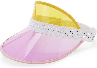 Sunnylife PVC sun visor $9 thestylecure.com