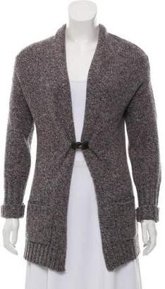 Brunello Cucinelli Marled Wool-Cashmere Cardigan