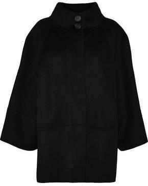 Carolina Herrera Wool Angora And Cashgora-Blend Coat