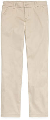Arizona Flat Front Pants-Big Kid Girls
