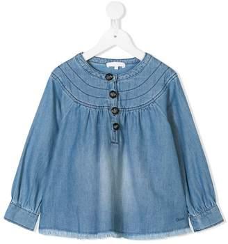 Chloé Kids denim tunic