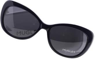 Thierry Mugler Navy Plastic Sunglasses