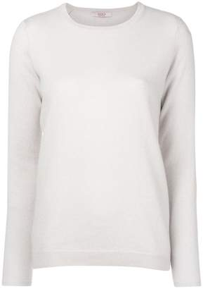 Liska cashmere elbow patch sweater