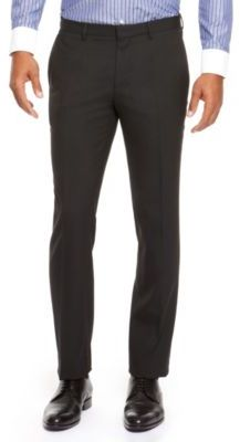 HUGO BOSS Genesis Slim Fit, Stretch Virgin Wool-Blend Dress Pants
