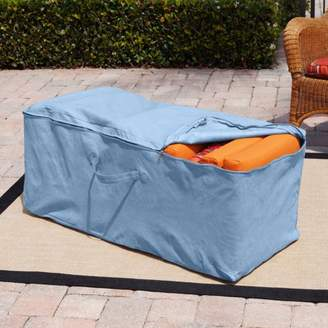 "Budge 19"" H Blue Patio Cushion Storage Bag Cover, All-Seasons"