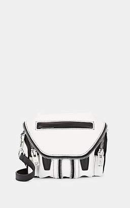 Alexander Wang Women's Micro Marti Leather Crossbody Bag - White