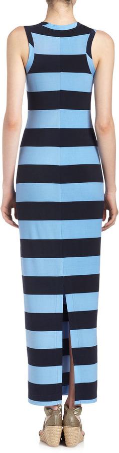 Donna Morgan Striped Maxi Dress, Marine/Harbor