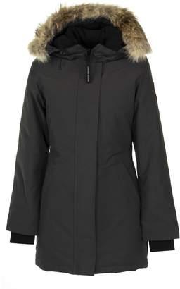 Canada Goose Grey Parka Jacket