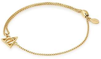Alex and Ani Women Gold Charm Bracelet of Length 24.13cm AS17HP18G