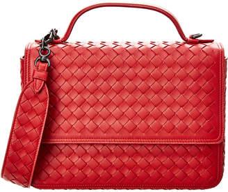 Bottega Veneta Alumna Intrecciato Leather Satchel