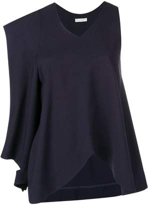 J.W.Anderson asymmetric patch pocket blouse
