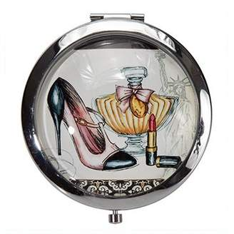 Harry D. Koenig Beauty Under Glass Collection Compact Double Mirror (Pack of 12)