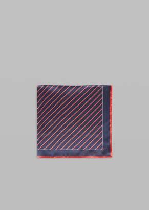 Giorgio Armani Patterned Silk Scarf