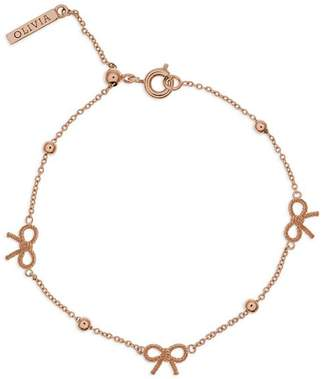 Olivia Burton Vintage Bow and Ball Bracelet
