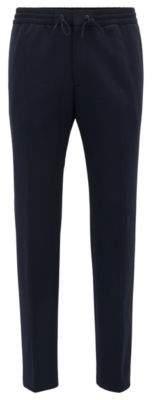 BOSS Hugo Dress Pant, Slim Fit Banks J 30R Dark Blue