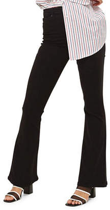 Topshop MOTO Black Flared Jamie Jeans 30 Inch Leg