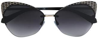 Bulgari cat eye tinted sunglasses