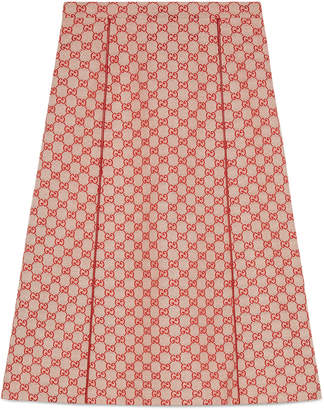 GG canvas skirt