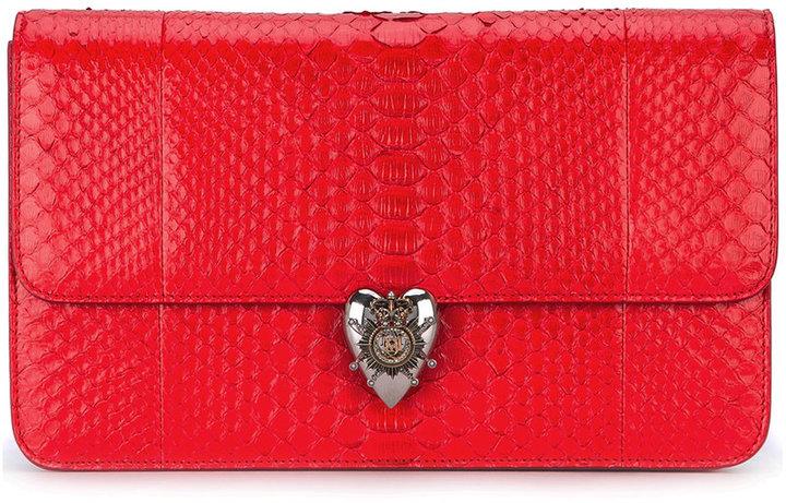 Alexander McQueenAlexander McQueen Heart clutch