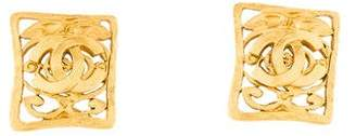 Chanel Decorative Clip-On Earrings
