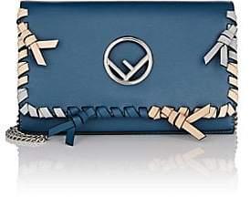 Fendi Women's Chain Wallet - Navy