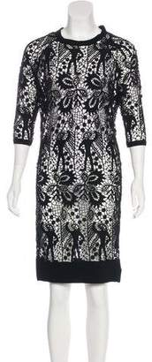 Isabel Marant Lace Knee-Length Dress