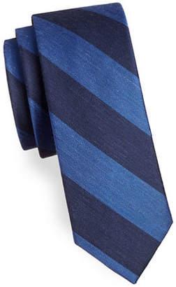 The Tie Bar RSVP Stripe Silk-Blend Tie