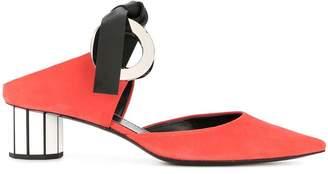 Proenza Schouler chunky heeled pumps