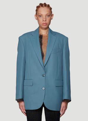 Acne Studios Jilly Oversized Suit Jacket in Blue