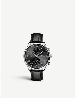 IWC IW371447 portugieser stainless steel watch