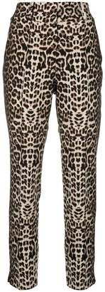 Veronica Beard leopard print trousers