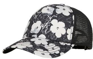 Women's Billabong X Andy Warhol Trucker Hat - Coral $24.95 thestylecure.com