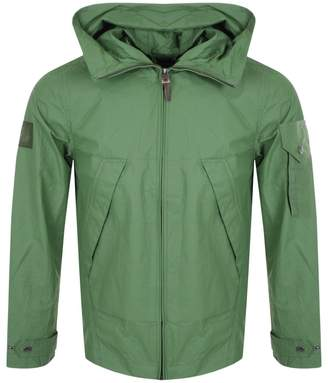 c222dcc5caf2a3 Pretty Green Lightweight Hooded Jacket Green