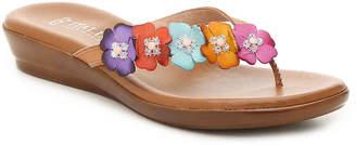 Italian Shoemakers Emina Wedge Sandal - Women's