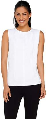 G.I.L.I. Got It Love It G.I.L.I. Sleeveless Peplum Back Top with Seam Detail