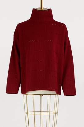 Molli Openwork knit sweater