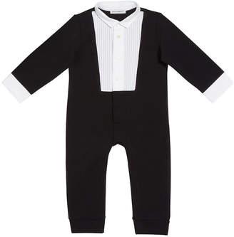 Dolce & Gabbana Boy's Tuxedo Coverall, Size 3-24 Months