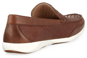 Tommy Bahama Men's Taormina Woven Leather Slip-On