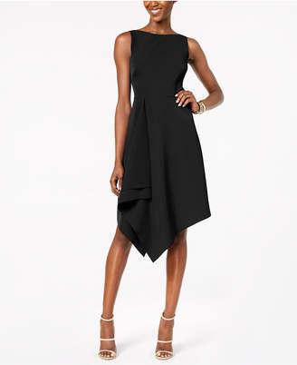 Vince Camuto Asymmetrical A-Line Dress