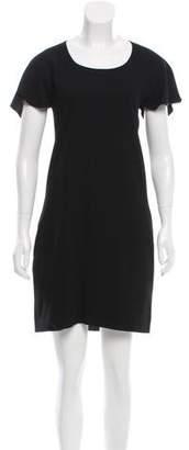 Chloé Open-Back Wool Dress