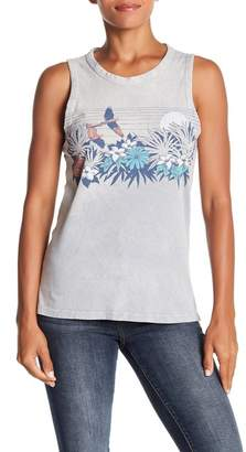 Lucky Brand Paradise Floral Tank