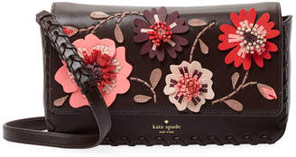 Kate Spade Floral Leather Shoulder Bag
