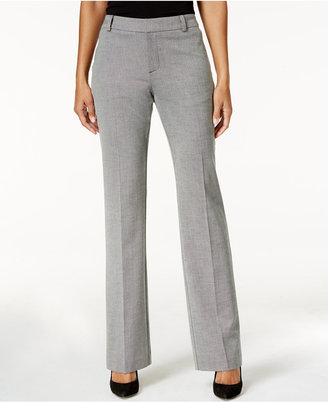 Charter Club Patterned Flare-Leg Trousers, Only at Macy's $69.50 thestylecure.com