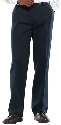 Croft & Barrow Big & Tall Classic-Fit Easy-Care Stretch Pleated Pants
