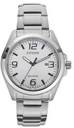 CitizenCitizen Eco-Drive Men's Sport Stainless Steel Watch - AW1430-86A